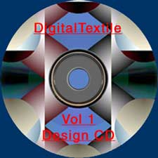 DigitalTextile vol. 1 Design cd